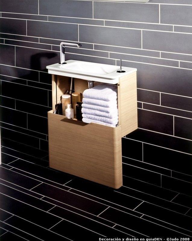 Lavamanos Baño Pequeno:mueble pequeño lavamanos