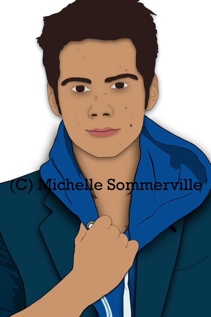 #DylanObrien #Stiles #TeenWolf #MTV #cartoon *Please credit if using. Don't remove watermark.*