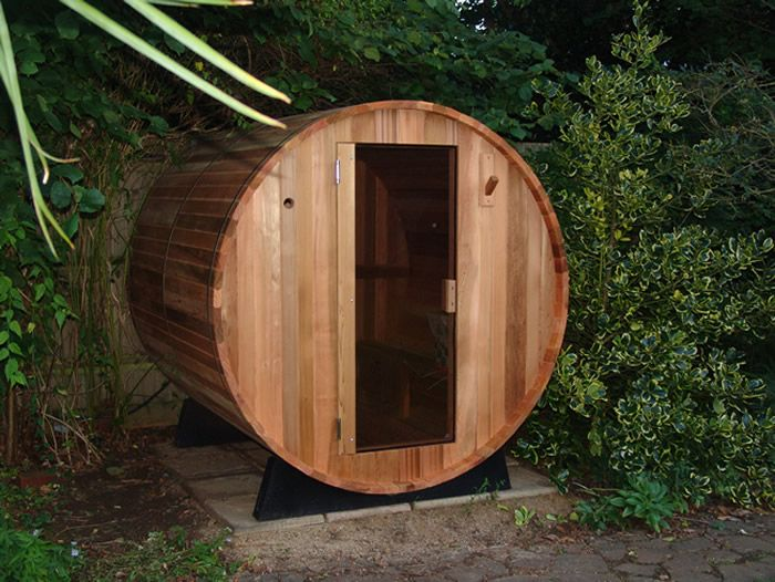 Barrel Sauna for the Garden - I would love to have this in my (still imaginary) garden!