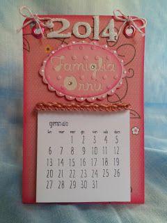 Chichi's Scrap: Calendario Famiglia Orrù