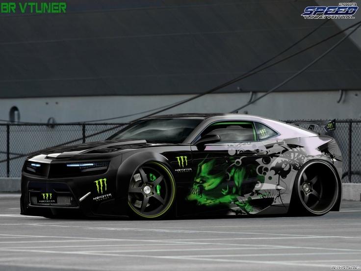 Monster Energy chevrolet Camaro SS