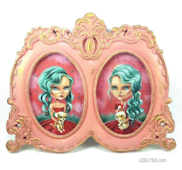 Image of ZELYSS originals: 'Pet love twins'