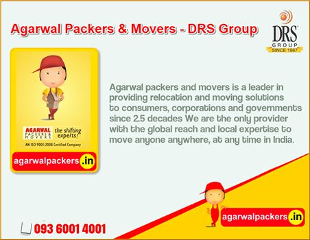 The largest private sector integrated logistics company in India. Agarwal Packers and Movers - DRS Group #agarwalpackers #packers #movers #moverspackers #carmoving #moving #homerelocation #agarwalmovers