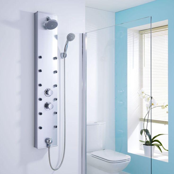49 Best Shower Panels Images On Pinterest Shower Panels Showers