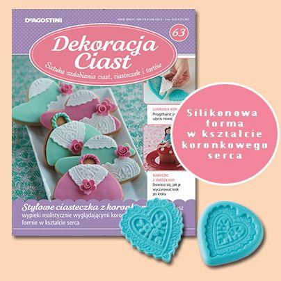 Numer 63 Dekoracji Ciast. Sprzedaż archiwalna: http://sklep.deagostini.pl/dekoracja-ciast-numer-63.html