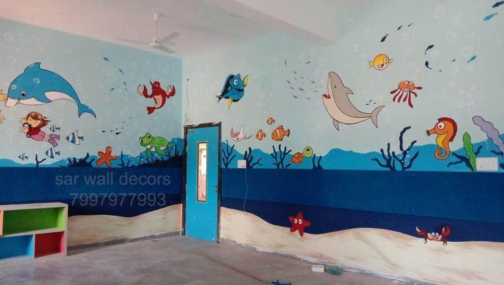 Play School Themes Wall Painting Play School Themes Wall Painting 3dwallpaintingforplayschool Wallpaintingforpreprimaryschool Playschoolpaintingi Okul Hali