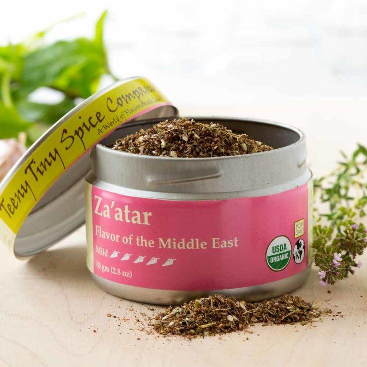 Teeny Tiny Spice Company - Organic Za'atar, $9.95 (http://www.teenytinyspice.com/organic-zaatar/)