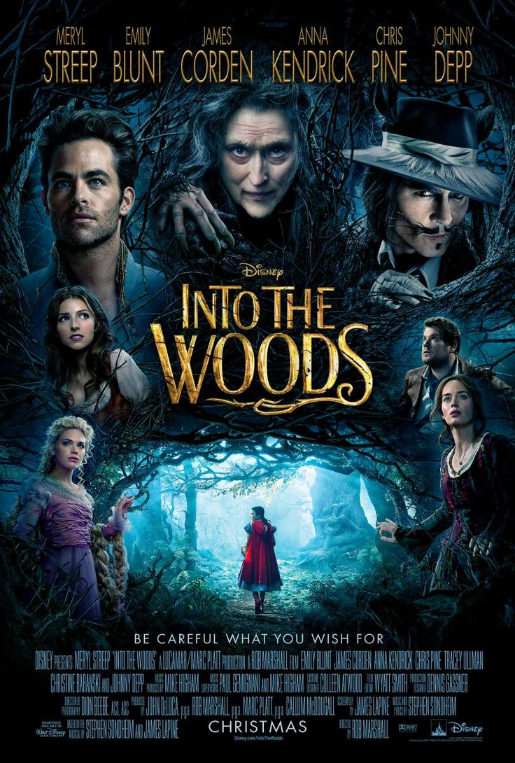 Into the woods  / directed by Rob Marshall No recomanada per a menors de 7 anys http://aladi.diba.cat/record=b1795758~S9*cat