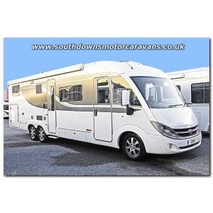 Used Burstner Elegance i810G Fiat 3.0L Tag Axle A-Class Motorhome U201110 For Sale at Southdowns Motorhome Centre