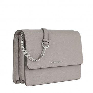 f2af6afd9ff Handtasche, Michael Kors, Large Gusset Crossbody Bag Pearl Grey | My ...