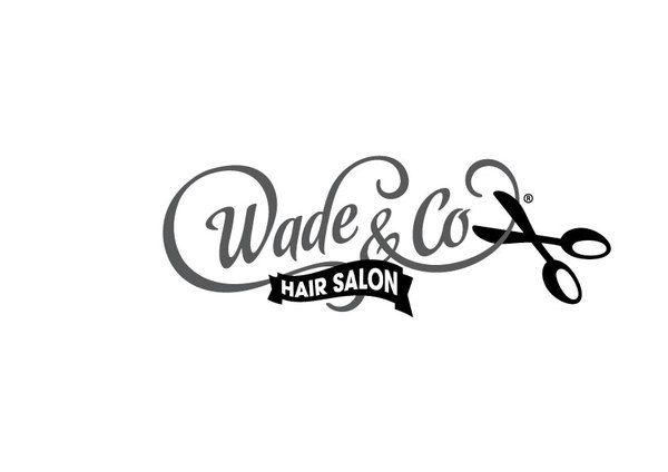Wade & Co Hair Salon Logo Presentaion by Riekus Raaths, via Behance