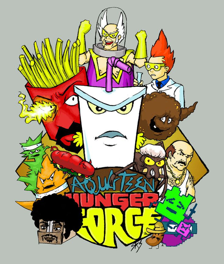 aqua teen hungerforce coloring pages - photo#46