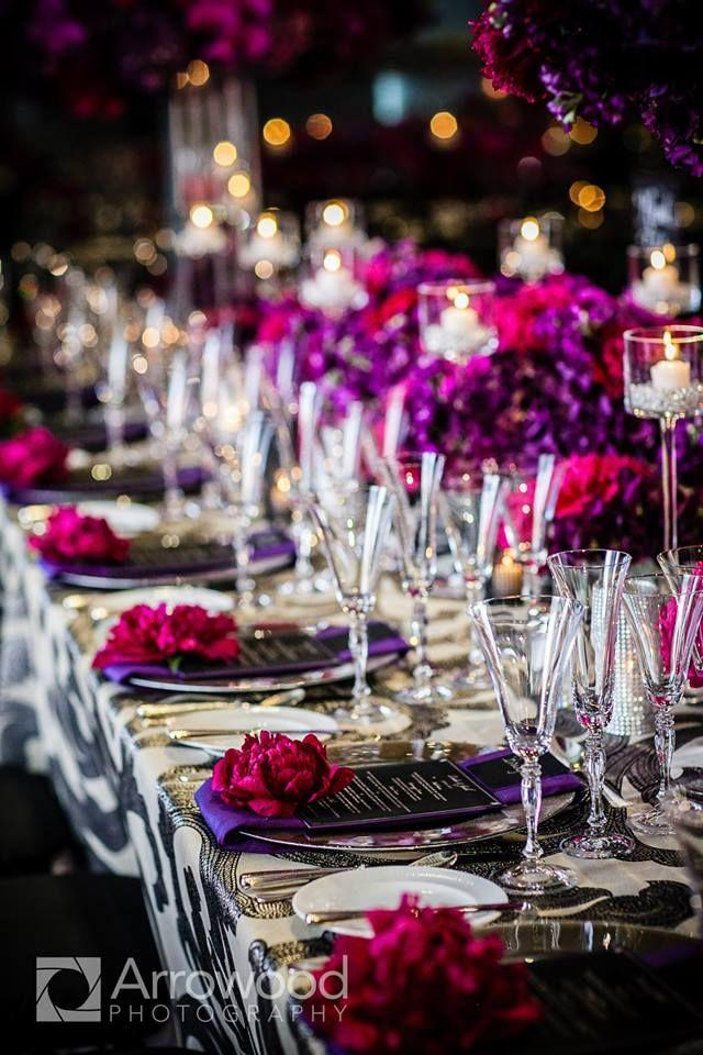 Beautifully Styled Wedding Flower Design