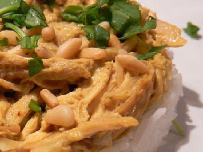 Recette Plat : Un reste de poulet rôti ? curry ! par Ma p'tite cuisine