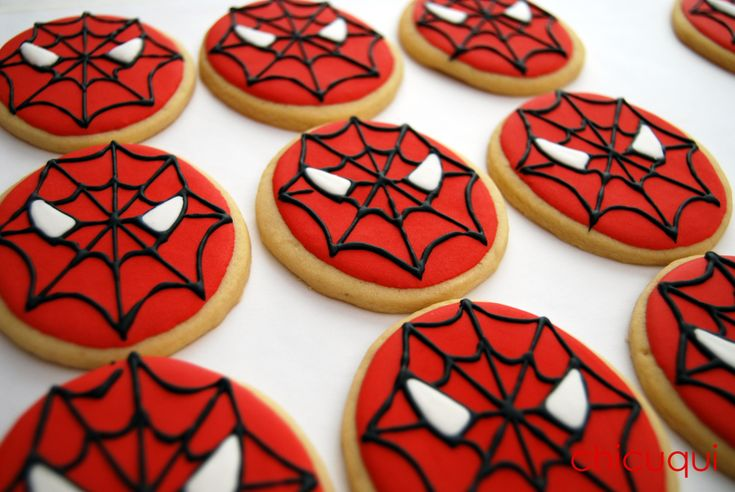 spiderman galletas decoradas decorated cookies 04
