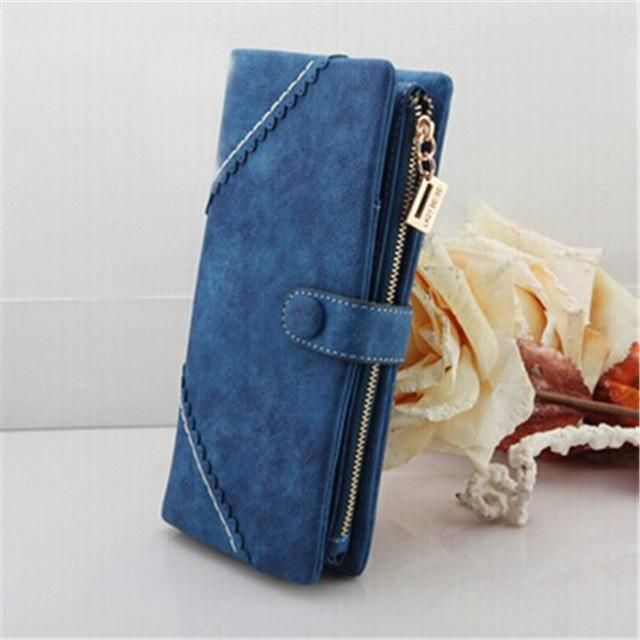 2017 Women Long Wallet Luxury Brand Card Holder Multifunctional Popular Purse HandbagTop Quality FreeShipping portefeuille femme