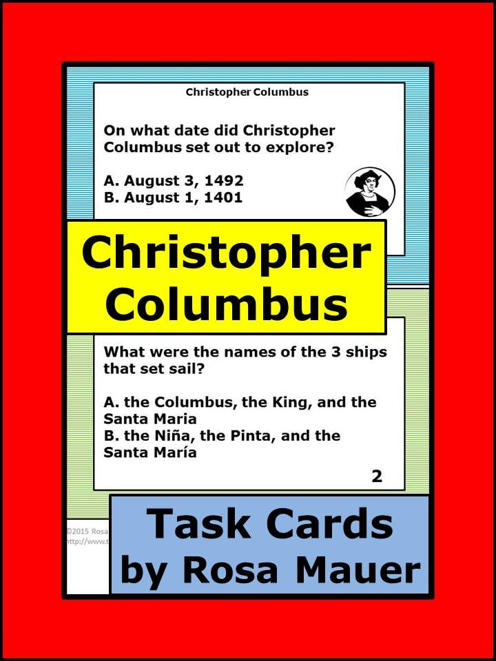 discussion questions christopher columbus Answer to: who was christopher columbus by signing up, you'll get thousands of step-by-step solutions to your homework questions you can also ask.