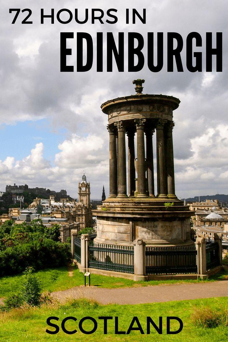 What to do with three days in Edinburgh, Scotland