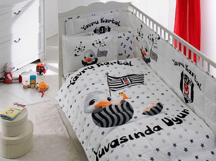 Taç Beşiktaş Yavru Kartal Baby bebek uyku seti en hesaplı |