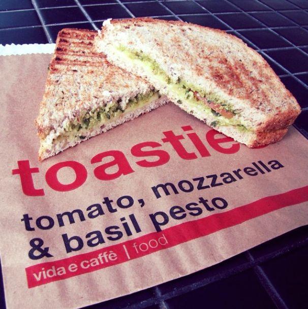 #Forgotyourlunch? We think toasties could work today! Check out Vida e Caffè food menu www.vidaecaffe.co... @vidaecaffe #vidaecaffe