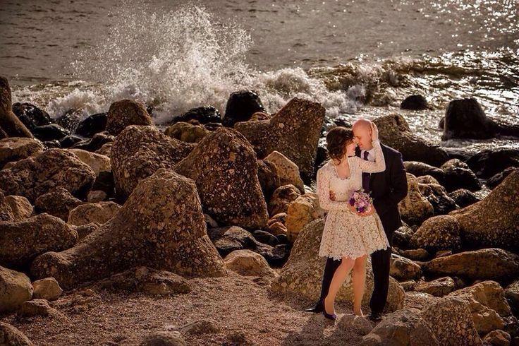 rochie cununie, dantela, organza si broderie 3