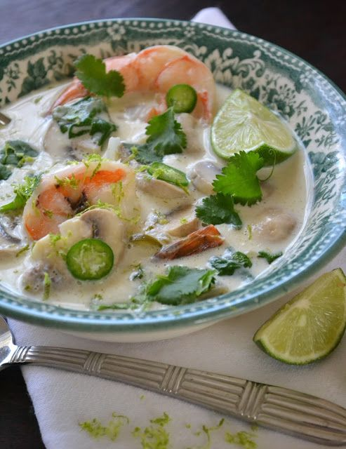 The View from Great Island | Day #4 of All Citrus Week: Thai Coconut Lime Soup