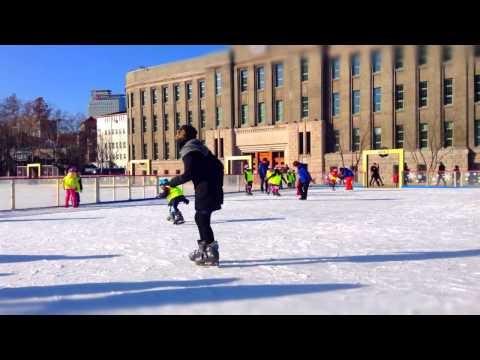 TimeLapse : Seoul Square's Skating Rink | 타임랩스 : 서울광장 스케이트장