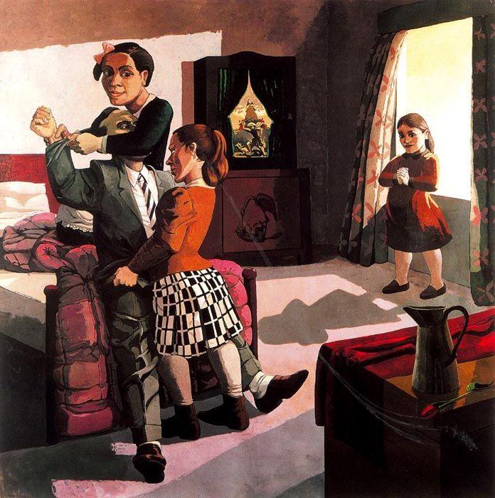THE FAMILY, Paula Rego (b1935 Lisbon, Portugal)