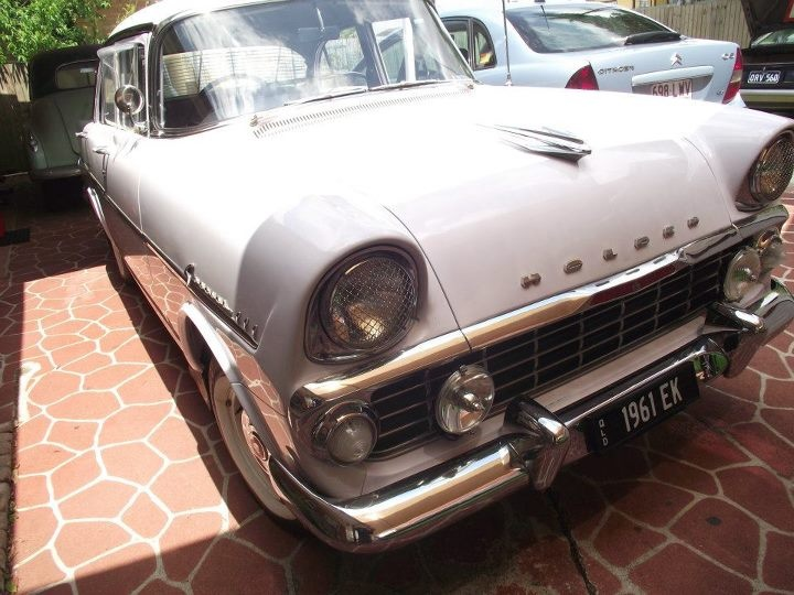This car was my father's who passed away in 2009, I purchased the number plates for it in #black & white to suit the classic cars look and style. I wanted to get the plates 'DADS EK' but when thinking if I ever wanted to part with my #Holden & the plates, '1961 EK' would suit better. I did however get a prestige plate made with the combination 'DADS EK' for shows & events.