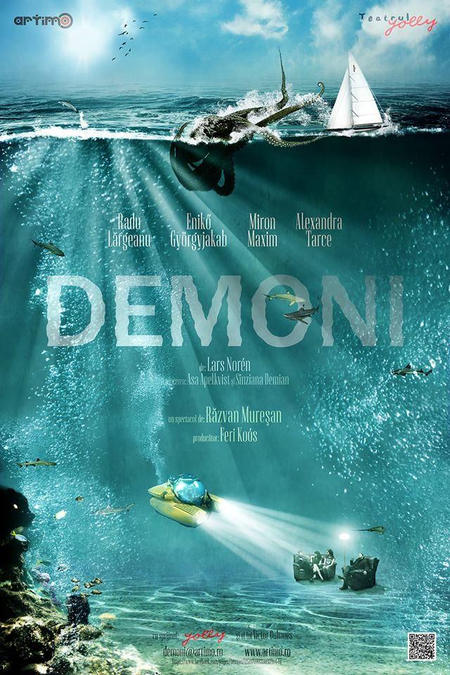 Demoni - primul spectacol - teatru de apartament
