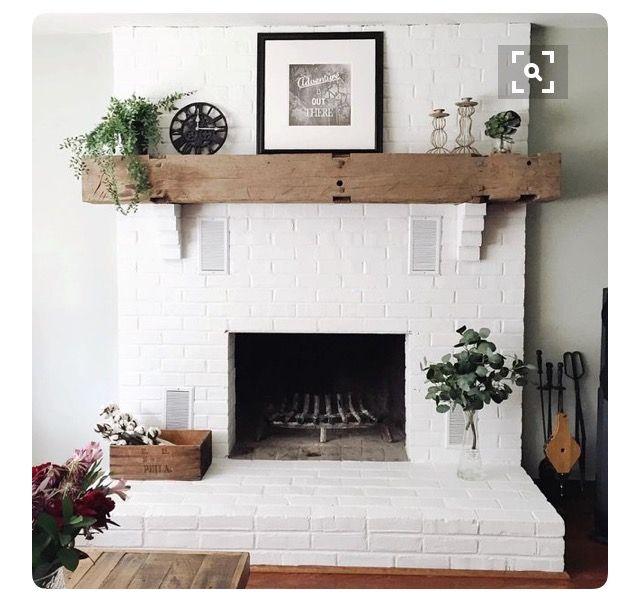 1000 id es sur le th me chemin es en briques peintes sur pinterest chemin es en briques. Black Bedroom Furniture Sets. Home Design Ideas