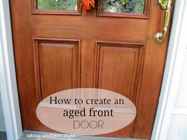 17 best ideas about wood front doors on pinterest entry doors farmhouse front doors and for How to paint a steel exterior door