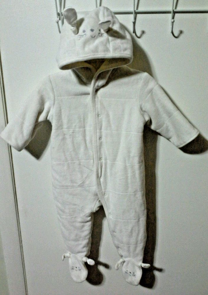 CHILDRENS PLACE 6-9 months Baby, Snowsuit Bunting One piece, Kids Infant Winter #ChildrensPlace #Snowsuit #DressyEverydayHoliday