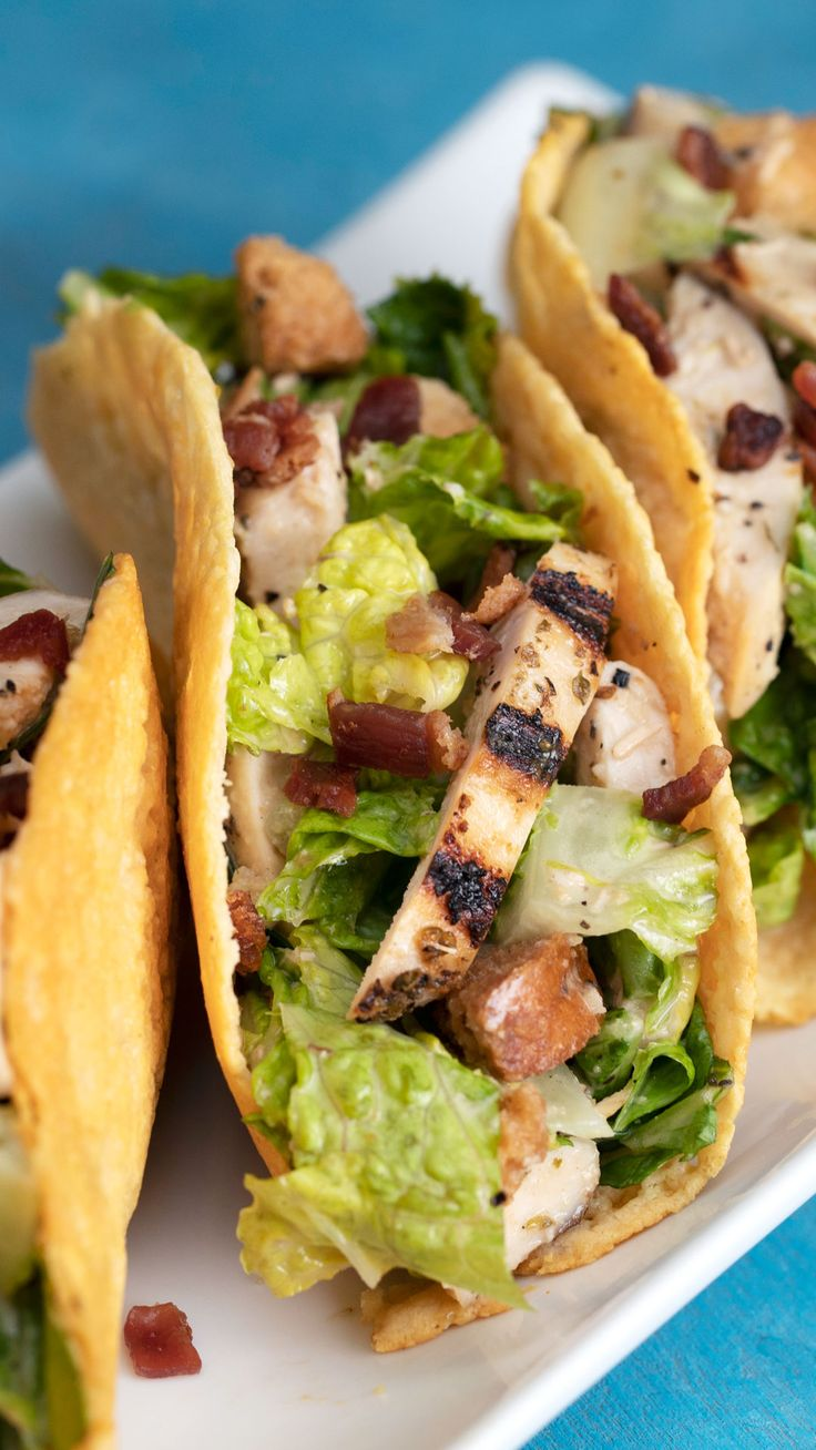 If you have to eat salad, eat it as a taco.