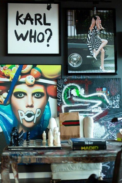 Fabelhafte moderne Inneneinrichtung im eklektischen Stil aus Los ...
