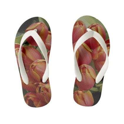 Custom Flip Flops Kids toddler Kid's Flip Flops - kids kid child gift idea diy personalize design