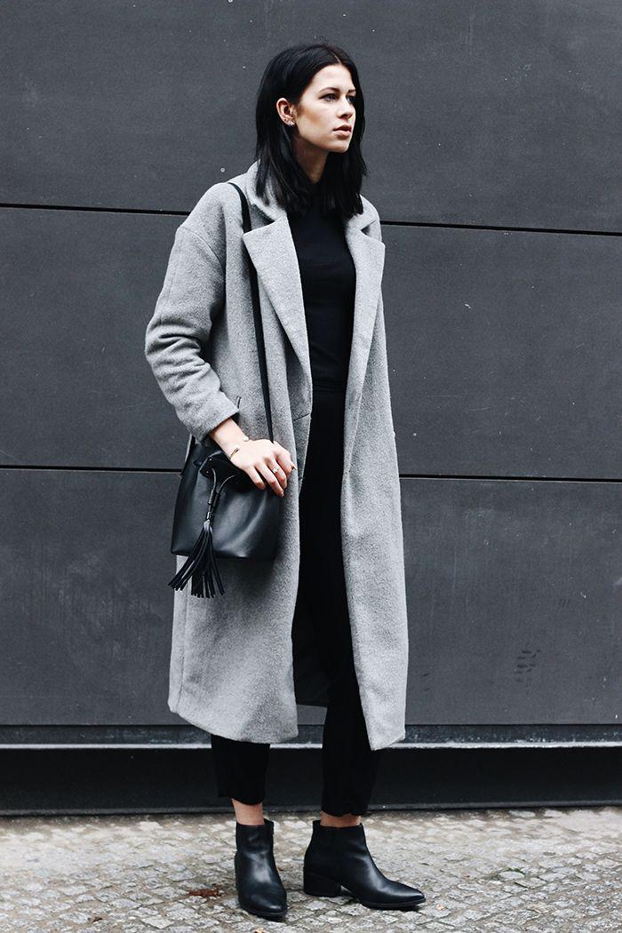 die besten 17 ideen zu graues stiefel outfit auf pinterest. Black Bedroom Furniture Sets. Home Design Ideas