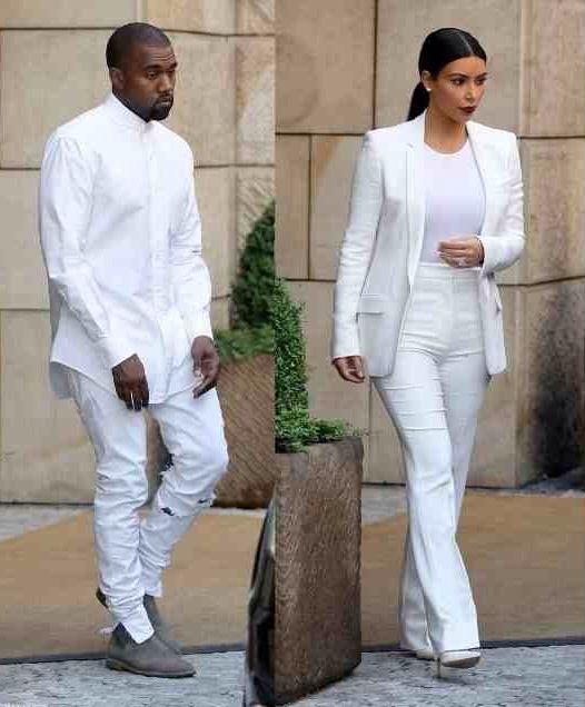 All White Everything Fashionable Couples Fashion
