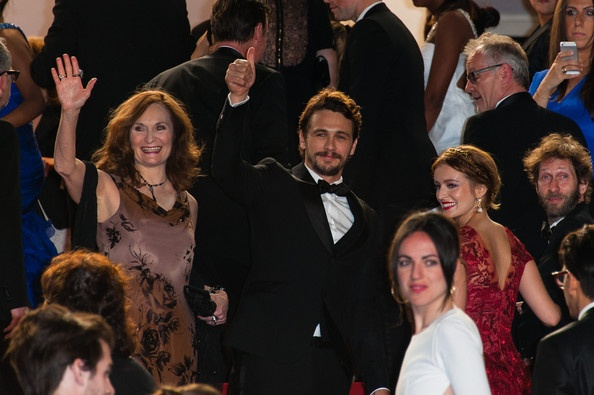 James Franco, Ahna Oreilly, and Beth Grant are for the Wara No Tate screening held at the Palais Des Festivals as part of the 66th Cannes Film Festival in Cannes, France on May 20, 2013.