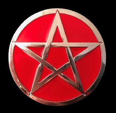 Punk Rock Red North Northern Star Belt Buckle #star #starbuckle #starbeltbuckle #northstar #northstarbuckle #beltbuckle #coolbuckles