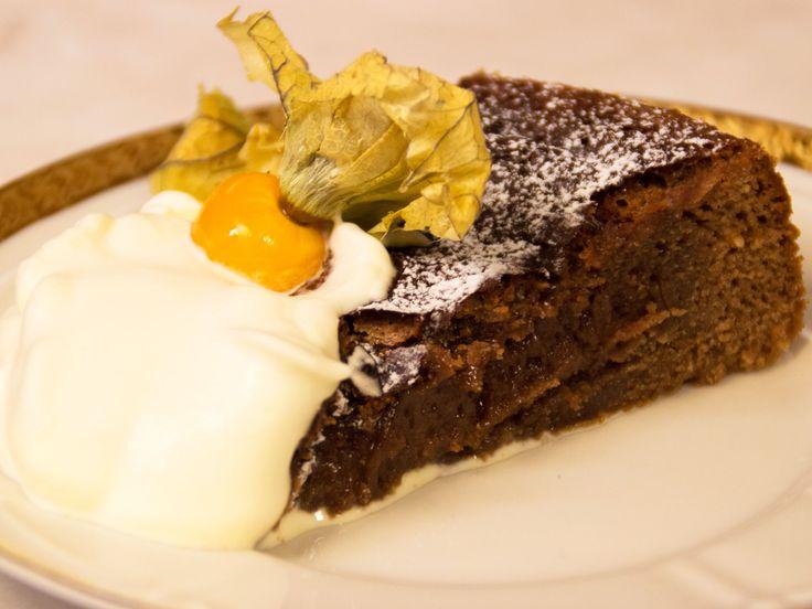 Kladdig chokladkaka | Recept.nu