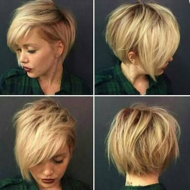 Image result for 360 view pixie cuts