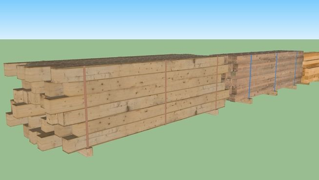 Stacked Planks set