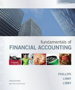 Fundamentals of Financial Accounting with Annual Report by Fred Phillips. $4.79. 654 pages. Publisher: McGraw-Hill/Irwin; 3 edition (January 11, 2010). Edition - 3. Author: Fred Phillips. Publication: January 11, 2010