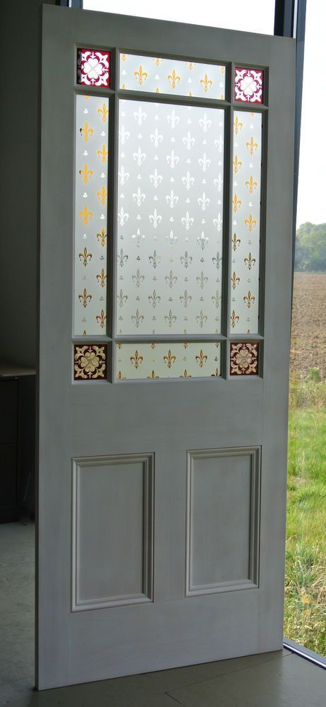 Victorian style 9 pane glazed pine internal doors in Home, Furniture & DIY, DIY Materials, Doors & Door Accessories   eBay