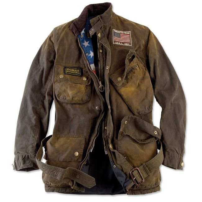 Just found this Mens+Belted+Motorcycle+Jacket+-+Barbour%26%23174%3b+Steve+McQueen+Rexton+Jacket+--+Orvis on Orvis.com!
