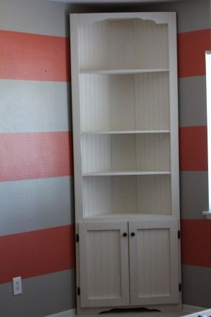 Corner Cupboard | Do It Yourself Home Projects from Ana White