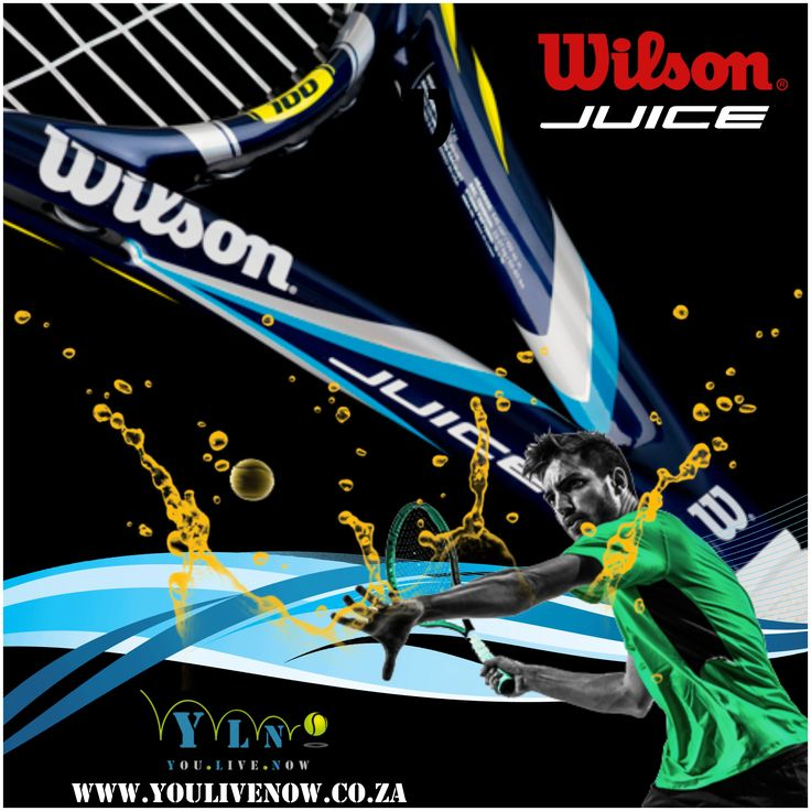 Crisp, lively and very spin friendly, this update to the Juice 100 is well suited to the explosive mechanics of the modern power game. At a speedy 11.3 ounces, the Juice 100 gives a wide range of intermediate and advanced players the mobility to swing big and multiply the power inherent in this racquet's wide and stiff beam. Order the Juice Racquet and receive a FREE tin of US open Tennis balls & Profile over grip (3 pack). http://www.youlivenow.co.za
