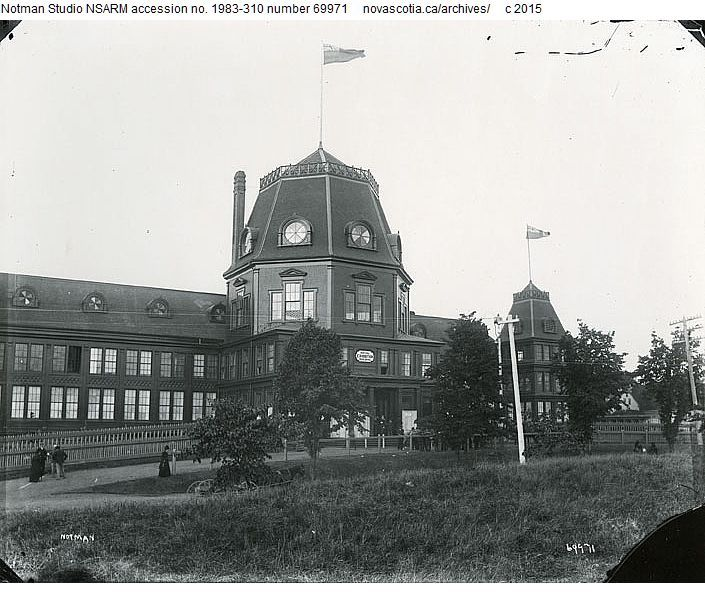 Royal Exhibition Building, Tower Road, #Halifax, #NovaScotia. Destroyed in the Halifax Explosion.
