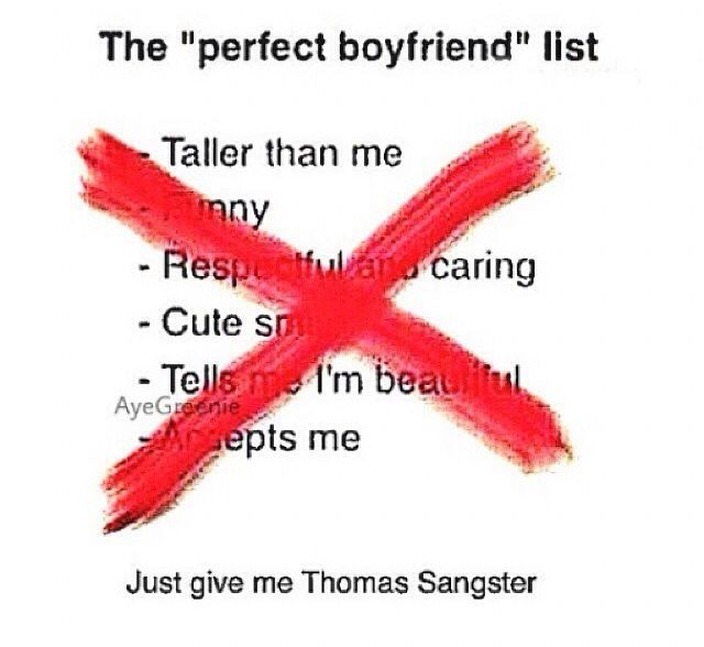 Just give me Thomas Brodie Sangster
